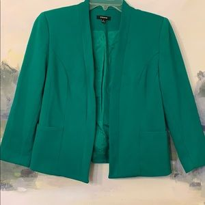 Kelly Green Jacket Size 6 Fits like a Small